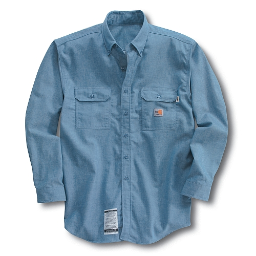Carhartt Men�s Flame-Resistant Chambray Shirt FRS004